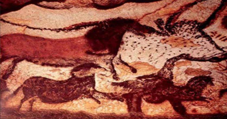 representation ecriture grotte