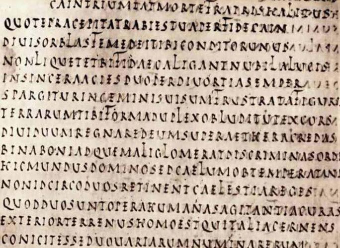 Text Latin